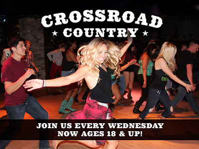Promotional image for Crossroad Country Wednesday