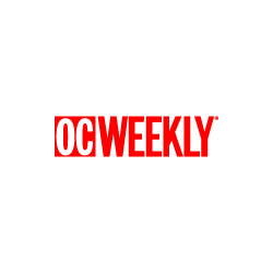 OC Weekly logo with link to their December 2016 article about the award-winning handcrafted cocktails at The RANCH.